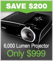 6000 Lumen Projector just $999