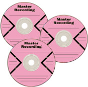 Master Recording Sheet Labels