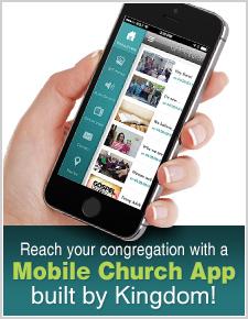 Mobile Church APP built by Kingdom
