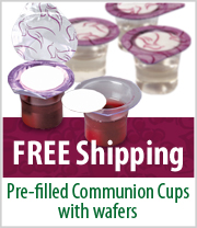 Free Shipping on Prefilled Communion Cups