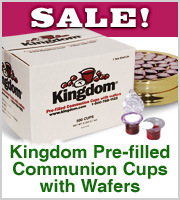 prefilled communion cups on sale