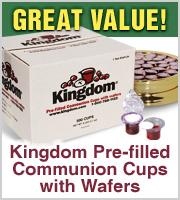 Prefilled Communion Cups