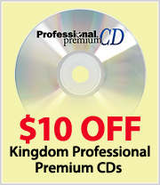 $10 off Professional Premium CDs