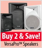 Save on Kingdom VersaPro Speakers sold in Pairs