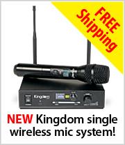 New Kingdom Wireless Multi-Channel Microphone System