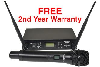 Kingdom Digital Wireless Mic System