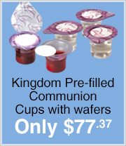 500 Count Pre-filled Communion Cups just $77.37