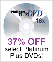 37% off select Platinum Plus DVDs