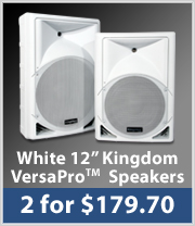 BOGO VersaPro Speakers