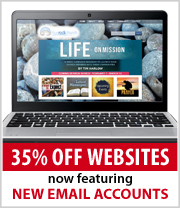 Church Websites now have emails